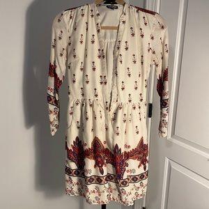 Top shop long sleeve dress